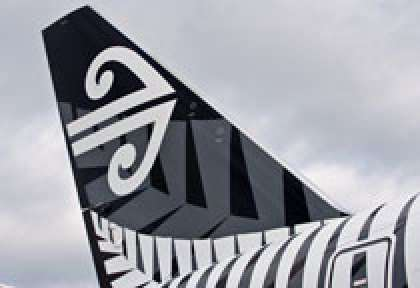 Empenage Air New Zealand