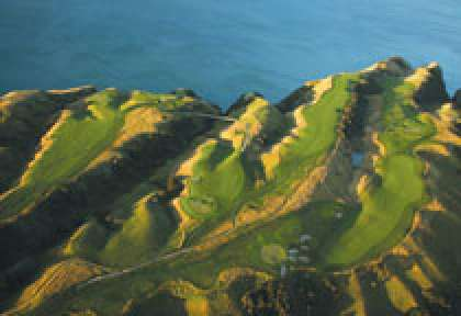 Golf à Cape Kidnappers