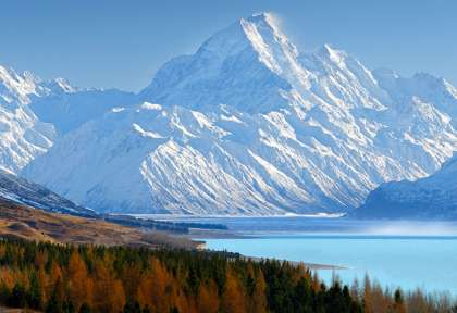 Lake Pukaki - Mt Cook