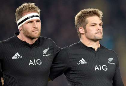 Richie McCaw et Kieran Read pour les All Blacks