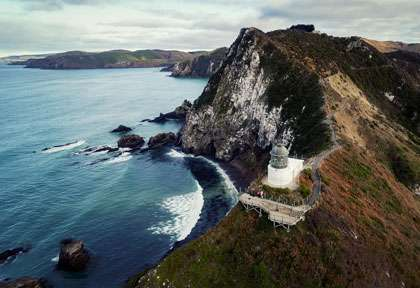 Nugget point dans les Catlins