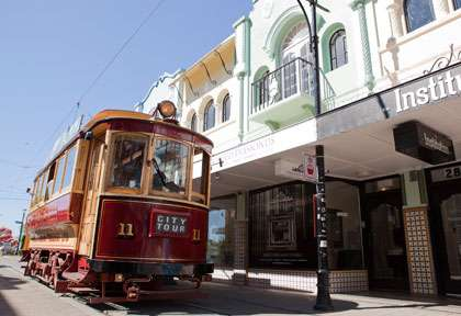 La Tramway de Christchurch