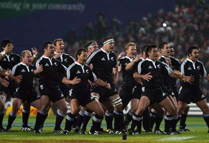 Le Haka des All Blacks