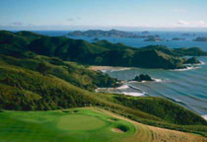 Golf à Kauri cliffs