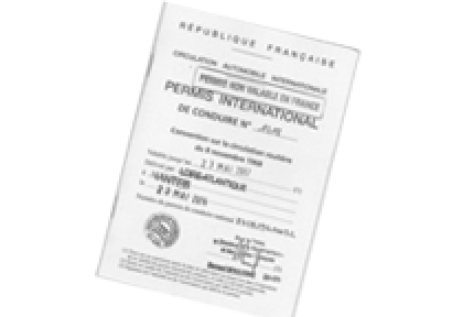 Permis de conduire international