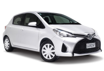 Location de voiture Go Rental Toyota Yaris