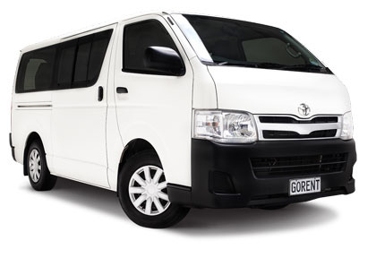 Location de voiture Go Rental Toyota Hiace 11 places